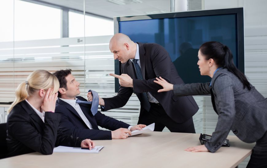 banish negativity in the workplace